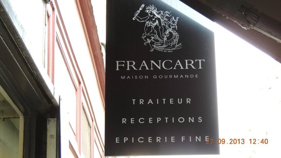 Maison Francart: Placa