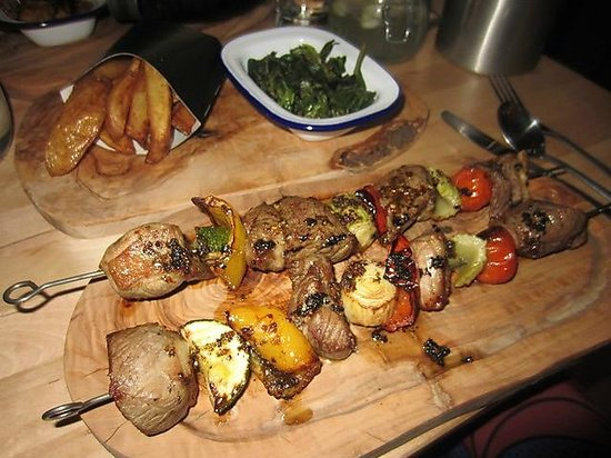The Soul Kitchen: Lamb Rump Skewers