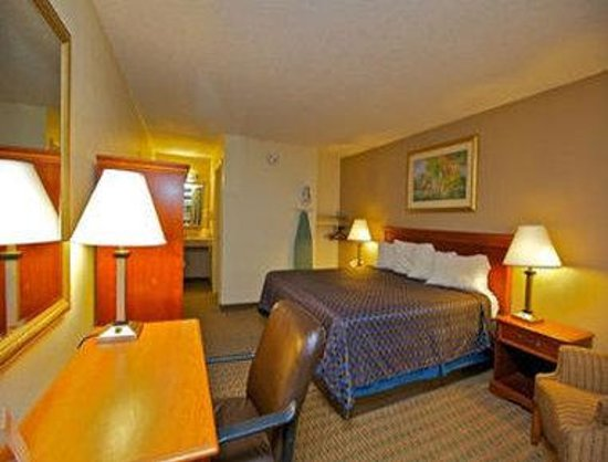 Quality Inn: One King Bed Room