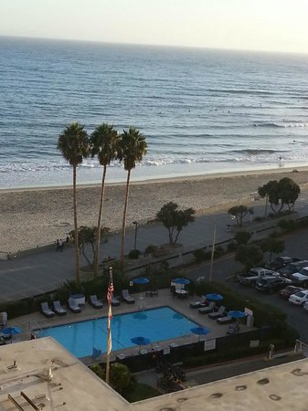 Crowne Plaza Ventura Beach: from the room