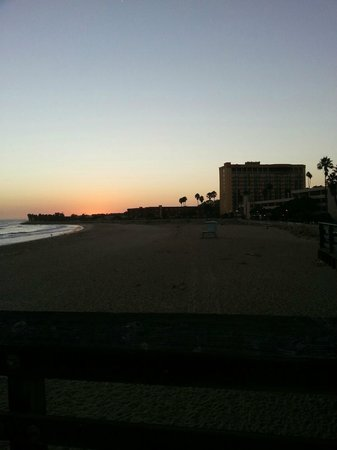 Crowne Plaza Ventura Beach: taken from peir at sun set