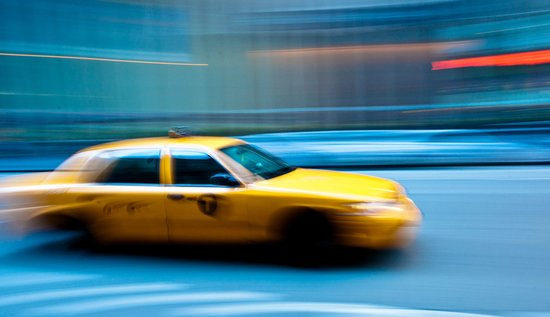 Photo Tours of New York: Stop that Cab