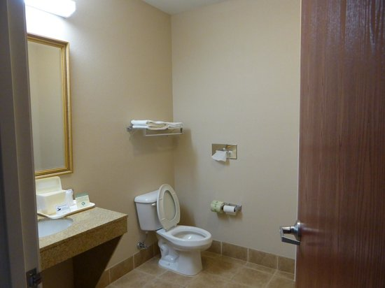 Comfort Inn & Suites: Huge Bathroom