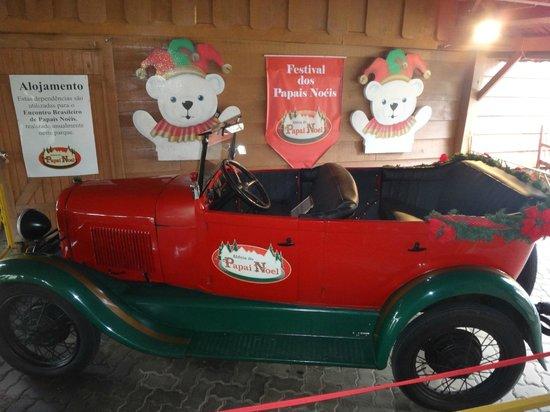 Aldeia do Papai Noel: O carro do papai noel!