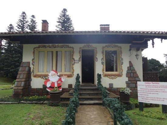 Aldeia do Papai Noel: A casa do papai noel!