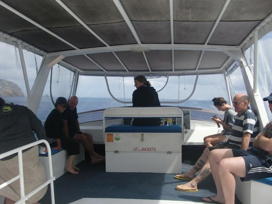 Dive Tutukaka: Aboard the Calypso.