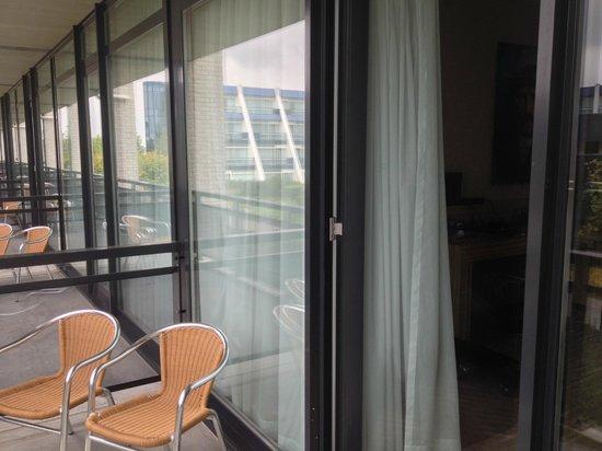 Van der Valk Hotel Schiphol: The balconies