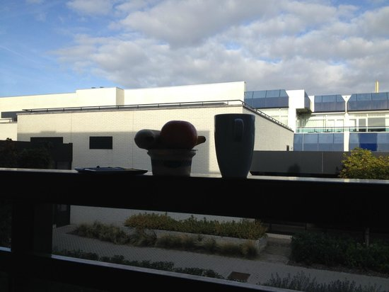 Van der Valk Hotel Schiphol: What I saw every morning from room 2001