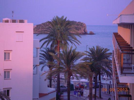 Caribe Ibiza Hotel: lo mismo al atardecer