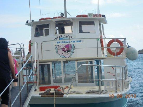 Caribe Ibiza Hotel: Ferry a ibiza y/o Formentera