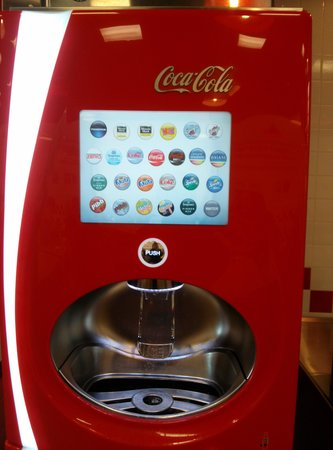 Five Guys: pop machine