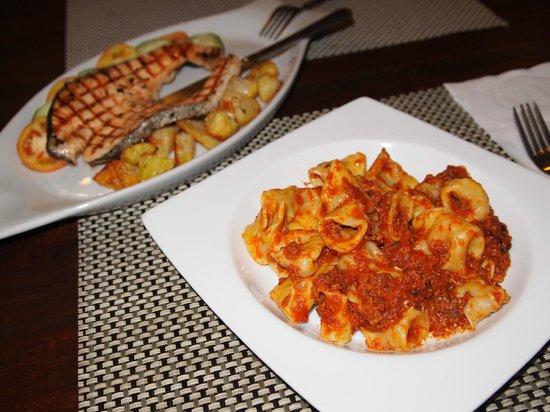 Daniele's CASA MIA: meal