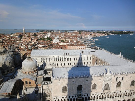 Campanile di San Marco: View of Doge's Palace from the Campanile