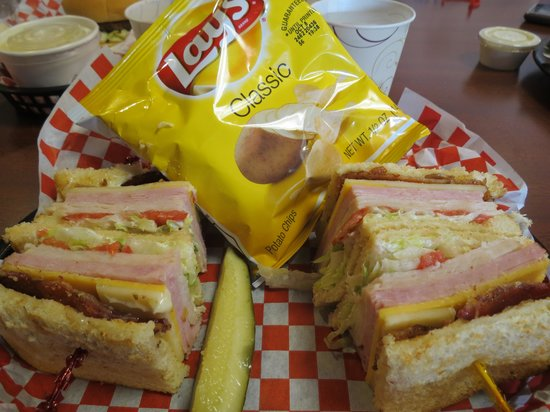 Tillamook Creamery: club sandwich