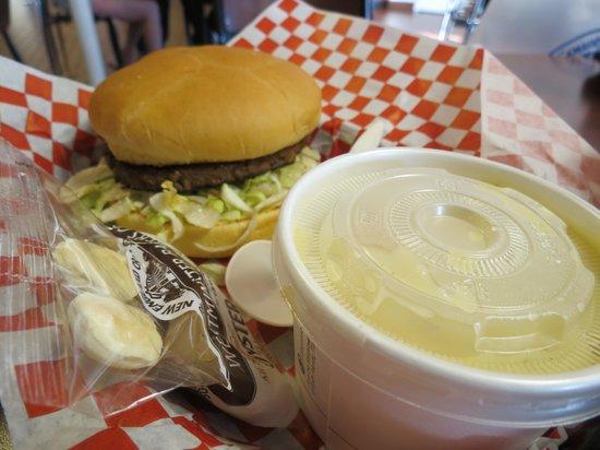 Tillamook Creamery: hamburger