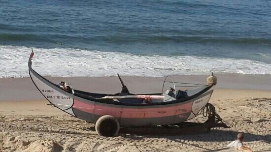 Vieira de Leiria, โปรตุเกส: Barco de pesca