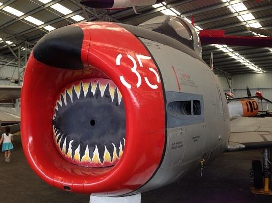 Queensland Air Museum: F-86 Sabre!
