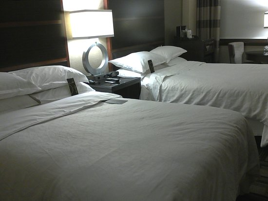 Sheraton New York Times Square Hotel: Two double beds room