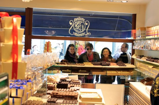 Historic Centre of Brugge: CHOCOLATE