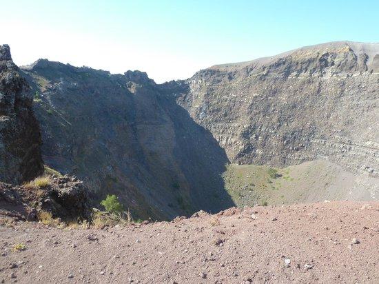 Vesuvio: cratera