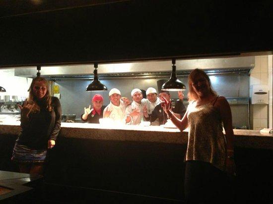 Hard Rock Hotel Cancun: Staff de la cocina Zen