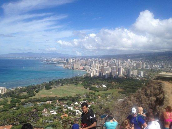 Sheraton Waikiki: Diamond Head lookout