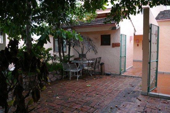 Estrella Del Mar Resort Mazatlan : El recibimiento a la villa