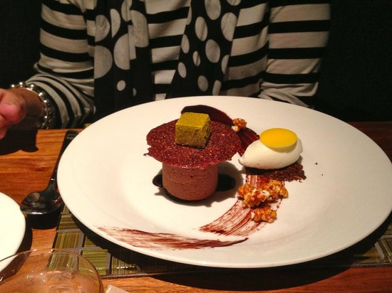 YEW seafood + bar: Desert - - no that's not a real egg