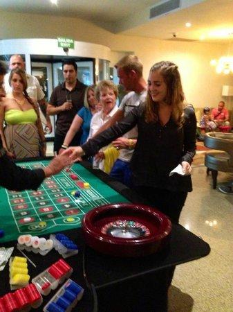 Hard Rock Hotel Cancun: Noche de casino