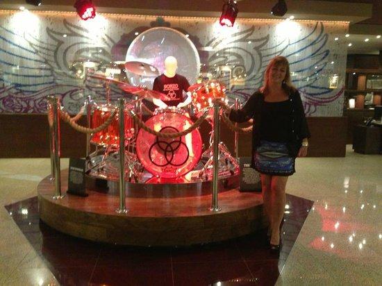 Hard Rock Hotel Cancun: Hall central