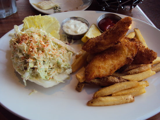Harbor Lights: Cod and Chips