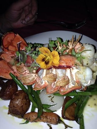 Bistro 162: split lobster tail