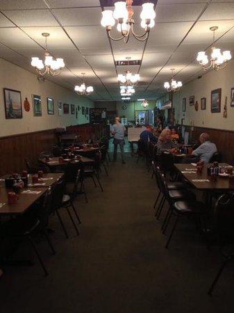 Jenny's Amsden House Restaurant: Sep 2013 - Dining Area