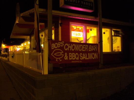 Bob's Chowder Bar & BBQ Salmon: Bob's Chowder Bar