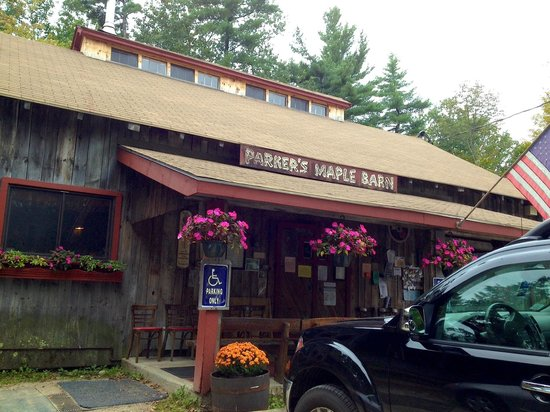 Parker's Maple Barn: Outside of Parkers