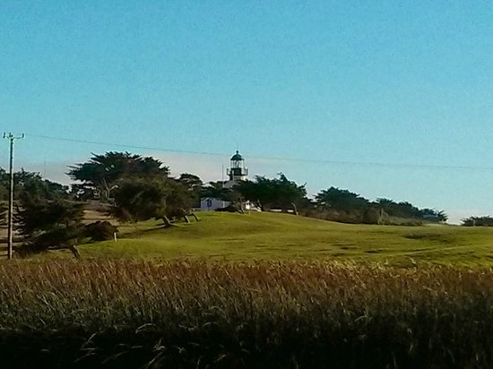 Monterey Peninsula Recreational Trail: The Lighthouse in Pacific Grove