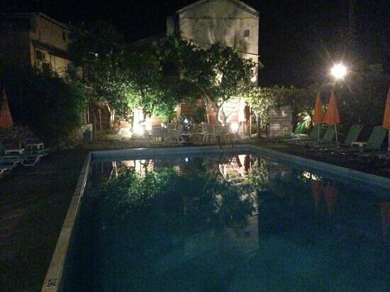 Argo Studios: The pool at night