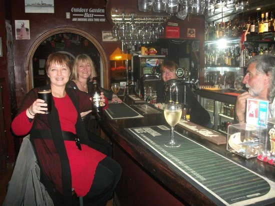 The Welsh Dragon Bar: comfy
