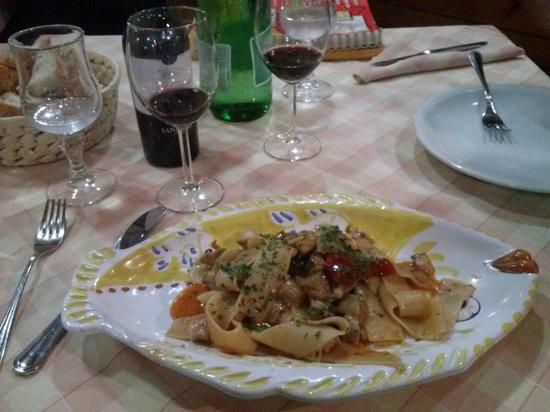 Ristorante e Pizzeria Arlecchino: Delicia di pasta...