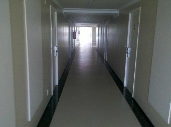 Veleiros Mar Hotel: Corredor
