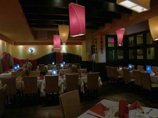 Cabana Restaurant: The set-up before guests arrive