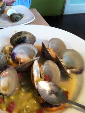 Sweetgrass Restaurant: Low Country Clams