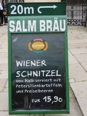 Salm Braeu: Just around the corner...
