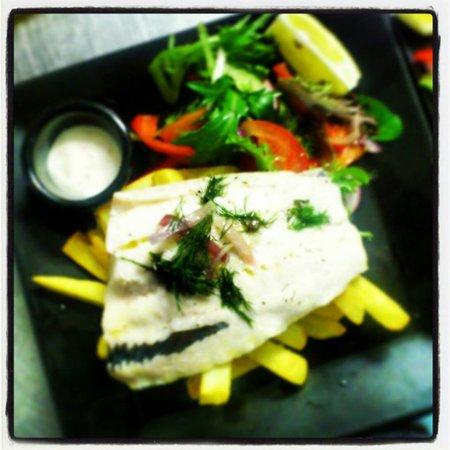 RJ's Diner: Fish & chips