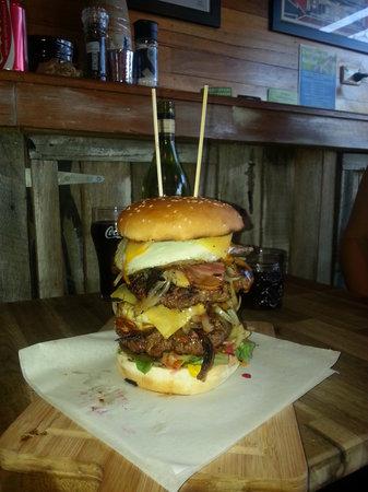 RJ's Diner: our largest burger