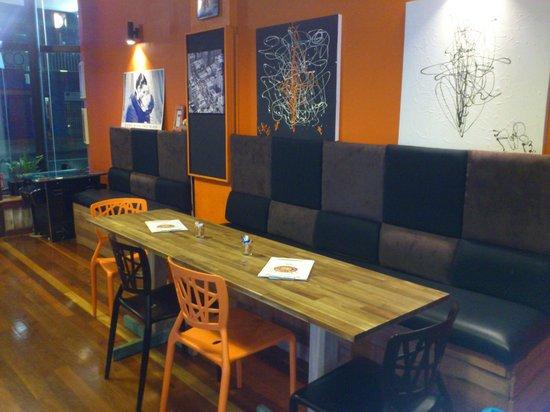 RJ's Diner: Inside the diner