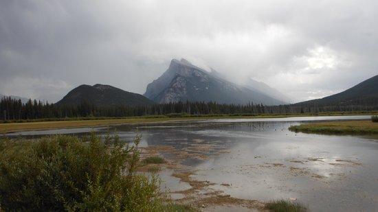 Vermilion Lakes: after the rainstorm