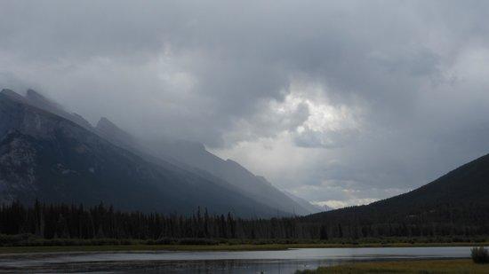 Vermilion Lakes: Vermillion after storm