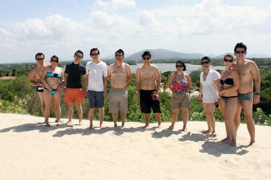 Praia de Cumbuco: VISTA DAS DUNAS