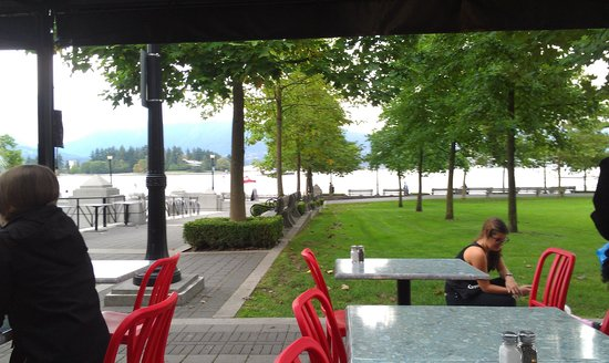 The Mill Marine Bistro: Float plane landing